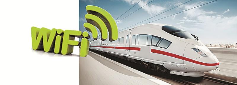 """今年春节期间,一位在火车上卖WiFi的大学生爆红于网络,短短半个小时即进账500元,但这一行为很快遭到了铁道部门的禁止。 事实上,早在去年9月份,列车WiFi便已在长沙至常德K9092次、常德至深圳东K9075次列车上率先安装,并进行了相关的测试。今年1月,我国首个面向铁路乘客提供无线局域网服务的""""高铁动车WiFi系统""""研制成功。"""