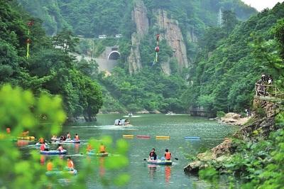 山水游临安·浙西大峡谷